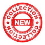 Stempel der neuen Sammlung Lizenzfreie Abbildung