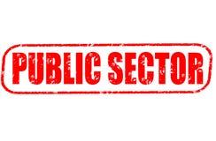 Stempel des öffentlichen Sektors Lizenzfreies Stockfoto