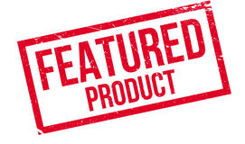 Stempel des empfohlenen Produkts Stockbild
