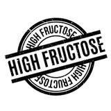 Stempel des hohen Fruchtzuckers Lizenzfreies Stockbild
