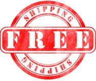 Stempel des kostenlosen Versands Stock Abbildung