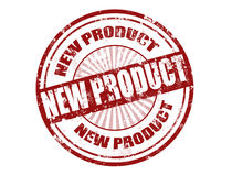 Stempel des neuen Produktes Lizenzfreies Stockfoto