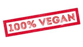 Stempel des 100-Prozent-strengen Vegetariers Lizenzfreie Stockbilder