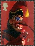 Stempel en de Postzegel van Judy het UK Royalty-vrije Stock Fotografie
