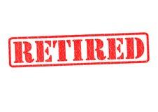 Stempel im Ruhestand Lizenzfreie Stockfotos