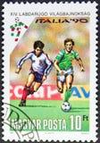 Stempel Italien 90 Stockbild