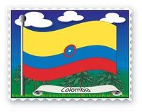 Stempel Kolumbien Stockbilder