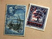 stempel pocztowy Obrazy Royalty Free