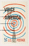 Stempel-Stimme der Weinlese-1967 von Amerika Lizenzfreie Stockfotografie
