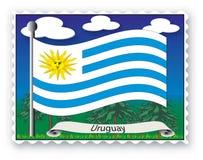 Stempel Uruguay Lizenzfreie Stockbilder