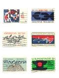 Stempel: US-Weinlese stempelt Cent 5 Lizenzfreies Stockfoto