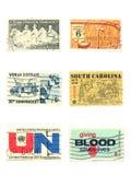 Stempel: US-Weinlese stempelt Cent 6 Stockbilder