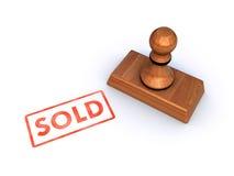 Stempel verkauft Stockbilder