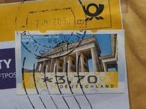Stempel von Deutschland Lizenzfreies Stockbild