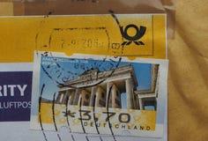 Stempel von Deutschland Stockbild