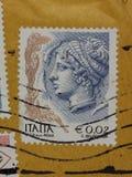 Stempel von Italien Stockbilder