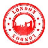 Stempel von London Stock Abbildung