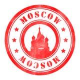 Stempel von Moskau Lizenzfreie Abbildung