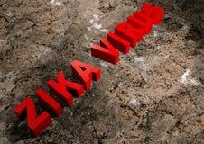 Stempel zika Virus Lizenzfreies Stockbild
