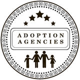 Stemplowa adopci agencja Fotografia Stock