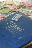 Stemplowego kolekcjonowania książka Zdjęcia Stock