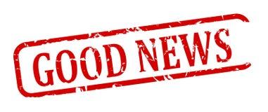 Stemplowy dobre wieści Obraz Stock