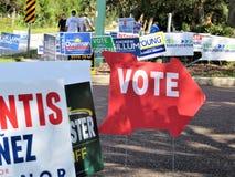 Stemteken, Florida stock foto's
