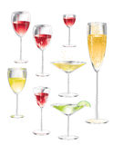 Stemware Stock Photos