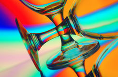 Stemware close up Stock Images