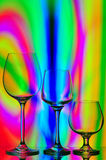 Stemware collection Stock Photo