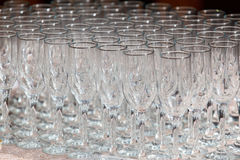 Stemware glass Royalty Free Stock Photography