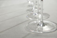 Stemware Royalty Free Stock Photos