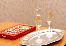 Stemware, Tableware, Wine Glass, Champagne Stemware stock image