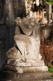 Stenängel utan huvud Royaltyfri Bild