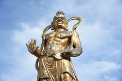 Sten buddha arkivbild