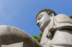 Sten buddha på Chin Swee Caves Temple, Genting Skotska högländerna Royaltyfri Fotografi