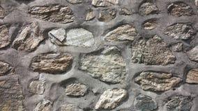Sten- & cementväggtextur arkivfoto