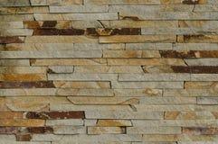 Sten dekorerad vägg Arkivbilder