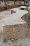 sten för fyrskulpturhav Arkivfoto