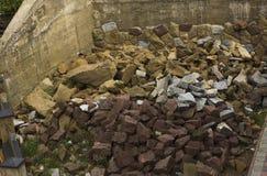 sten för konstruktionslokal Arkivbild