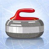 Sten för krullande sportlek också vektor för coreldrawillustration stock illustrationer