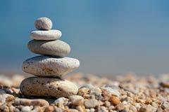 sten för kusthavsbrunnsort Royaltyfri Fotografi