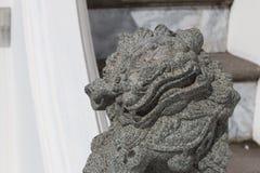 sten för porslinlionnanjing lättnad Arkivfoton