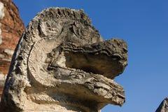 sten för porslinlionnanjing lättnad Arkivfoto