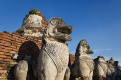 sten för porslinlionnanjing lättnad Royaltyfri Foto