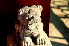 sten för porslinlionnanjing lättnad Royaltyfria Foton