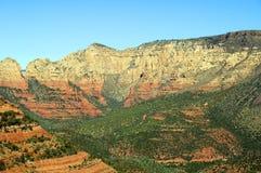 sten för sedona för arizona liggande röd Fotografering för Bildbyråer