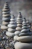 sten för strandpebblebuntar Royaltyfri Foto