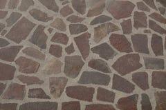 Sten och cement i golvet arkivfoton