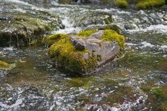 Sten och vatten 1 Arkivbild